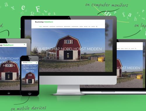Nieuwe website Buurtschap Nobelhorst Midden online