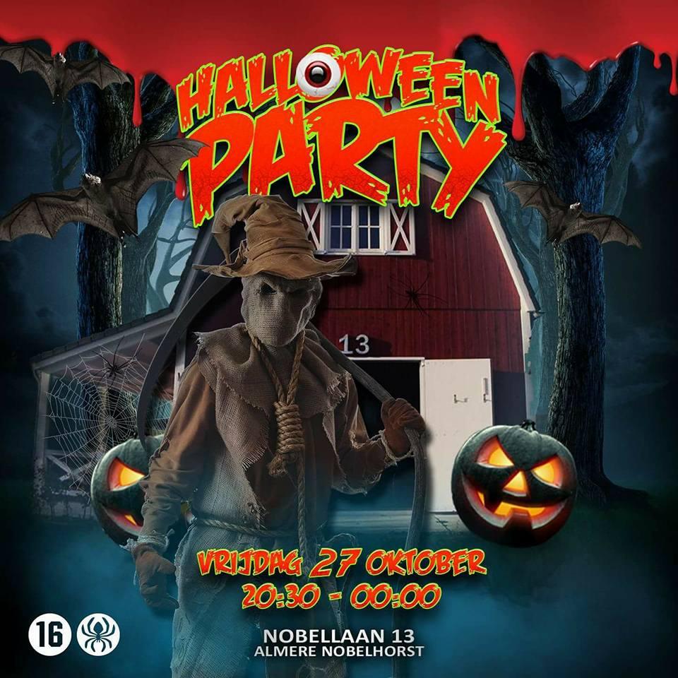 Halloween Feest Almere.Halloween Feest Voor Kinderen Tot 16 Jaar Buurtschap Nobelhorst